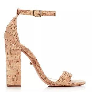 Schutz Enida High Block-Heel Sandals excellent